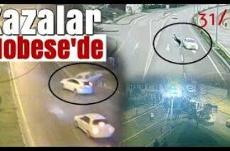 Sinop'taki trafik kazaları MOBESE'de