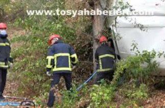 Tosya Pirinç Esnafı Trafik Kazası