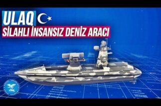 Türkiye'nin İlk Muharip İnsansız Deniz Aracı ULAQ geliyor