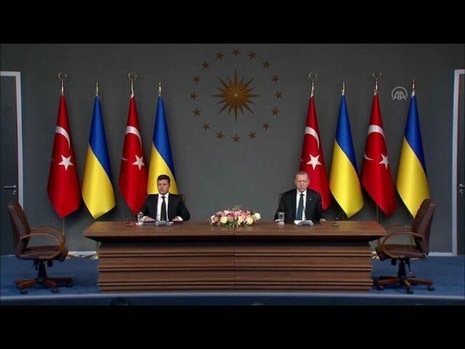 Türkiye ile Ukrayna arasında savunma sanayii alanındaki iş birliği anlaşması imzalandı