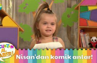 Çakıl Bebek Nisan'dan komik anlar!