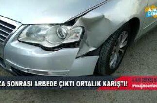Çerkeş'te Trafik Kazası
