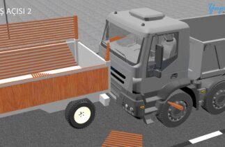 3 Boyutlu Trafik Kazası Canlandırma – 3D Traffic Accident Crash Animation