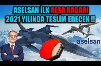 ASELSAN İLK AESA RADARI 2021 YILINDA TESLİM EDECEK !!