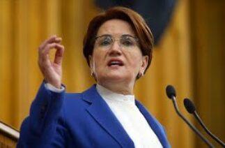 """Akşener: """"Tarım Bakanı'nın da TİKTOK'ta yapacağı bir düetle istifa etmesini bekliyoruz"""""""