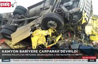 Ankara ve Diyarbakır Trafik Kazaları 6.11.2020 TURKEY