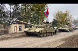 Azerbaycan ordusu 27 yıldır Ermeni işgalinde bulunan Ağdam'a girdi