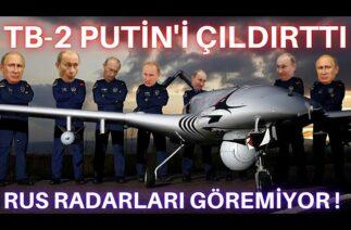 BAYRAKTAR TB-2 PUTİN'İ ÇILDIRTTI ! RUS HAVA SAVUNMASI SİHA'YI DURDURAMADI ! RADARLAR YAKALAYAMIYOR !
