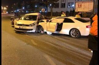 Bayburt'ta 3 aracın karıştığı trafik kazasında 7 kişi yaralandı