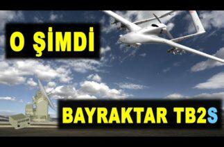 Bayraktar TB2 rütbe taktı: Bayraktar TB2S uyduyla uçacak – Satellite control to Bayraktar TB2 UAV