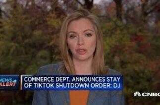 Commerce department will not enforce TikTok ban: Dow Jones