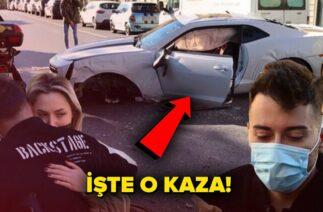 Enes Batur'un ölümden döndüğü trafik kazası