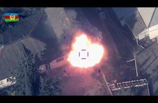 Ermenistan'ın Tor-M2KM hava savunma sistemi imha edildi