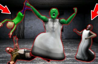 Funny Animation *Granny* and *Funny Horror* || Granny Hulk attacks :)) (p.1)