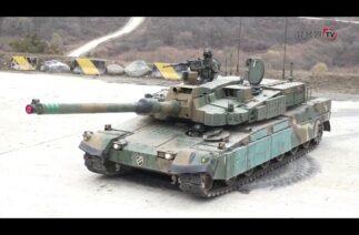 Güney Kore, yerli üretim zırhlı araçlarının yeteneklerini sergiledi