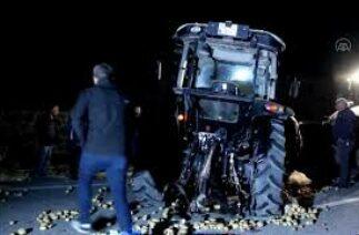 Kamyon ile traktör çarpıştı: 1 ölü, 3 yaralı – SİVAS