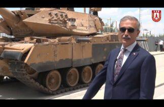 M60T Modernizasyon'unu Savunma Sanayi Başkanı İsmail Demir Anlatıyor