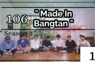 """ Made In Bangtan ""//BTS – Hindi Dubbing (Funny) // Ep 106 // Part 1"