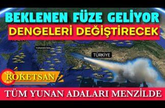 ROKETSAN YENİ FÜZESİ BİTTİ TRLG-230 SAVUNMA SANAYİMİZİN GÖZDESİ