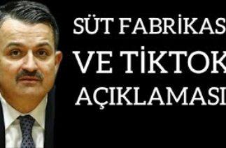 SON DAKİKA! Konya'daki Süt Fabrikası TikTok'ta Paylaşıldı ve Bakanlıktan Açıklama Geldi!