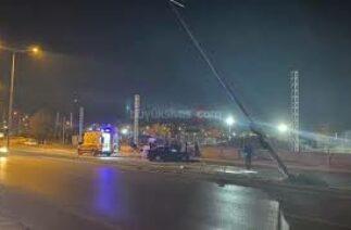 TSO Kavşağında Trafik Kazası