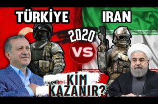 TÜRKİYE VS İRAN GÜÇ KARŞILAŞTIRMASI [2020] ! -COMPARISON OF TURKEY VS IRAN!