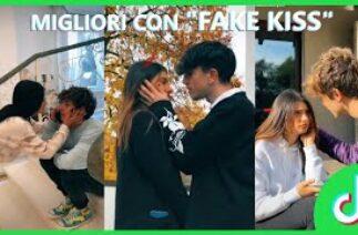 "TikTok ""Fake Kiss""✖💋 Challenge"