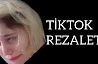 TikTok'ta REZALET! Sarışın Kız Ceylin Akçalı İzmir Depremi Ayda (TEPKİ)