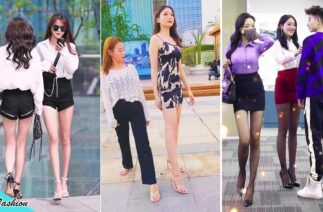 Tiktok Fashion 🔥 Do You Like A Long Leg Girl ? 🤪