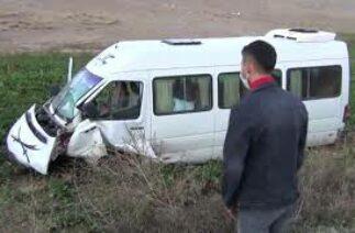 Trafik Kazası 2 Ölü 18 Yaralı ılgın konya