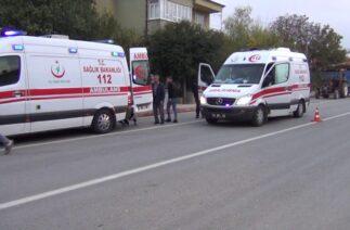 Trafik Kazası Yaralılar var…