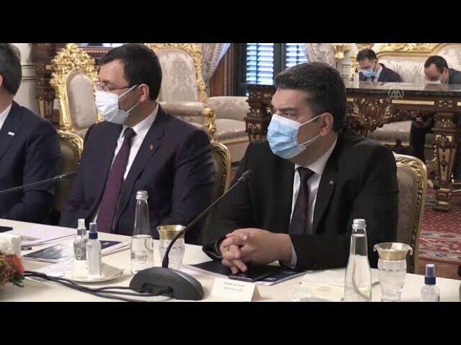 Türkiye ile Ukrayna arasındaki toplantıya savunma sanayii yöneticileri katıldı