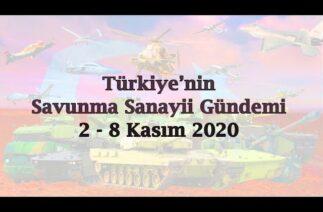Türkiye'nin savunma sanayii gündemi 2 – 8 Kasım 2020