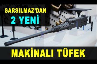 Türkiye'nin yeni makinalı tüfekleri: SAR 762 MT ve SAR 127 MT – 2 new machine guns – Sarsılmaz