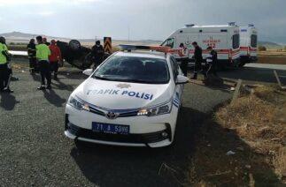 Yozgat'ta trafik kazası:1 ölü, 3 yaralı
