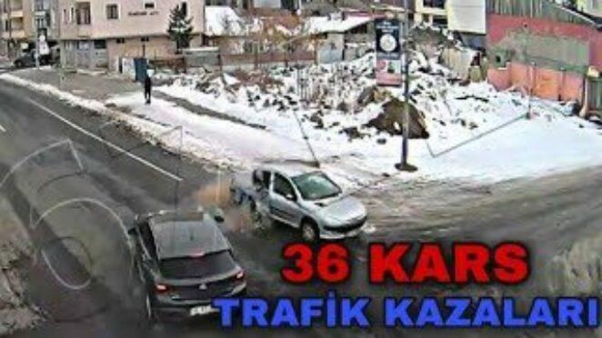 36 KARS – TRAFİK KAZALARI