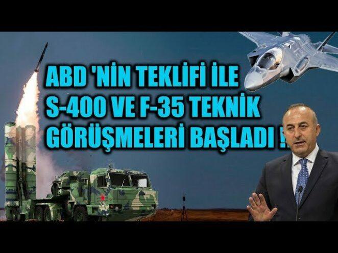 ABD 'NİN TEKLİFİ İLE S-400 VE F-35 TEKNİK GÖRÜŞMELERİ BAŞLADI !!