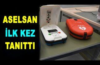ASELSAN ilk kez vitrine çıkardı: Elektroşok cihazı – defibrilatör – ASELS – Savunma Sanayi