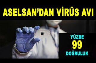 ASELSAN'dan virüs tespit cihazı – Virus detection device from ASELSAN – ASELS – Türk Savunma Sanayi