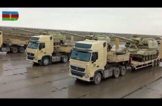 Azerbaycan, 10 Aralık'taki askeri geçit töreni için hazırlıklarını sürdürüyor