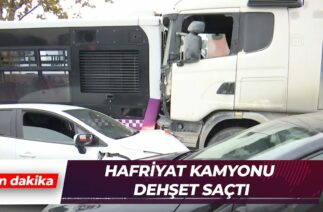 Başakşehir'de zincirleme trafik kazası
