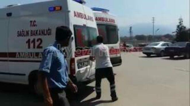 Beldibinde Trafik Kazası