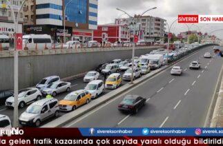 Diyarbakır'da zincirleme trafik kazası: 1'i ağır, 6 yaralı