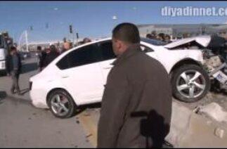 Edremit'te Trafik kazası 2 yaralı/VAN