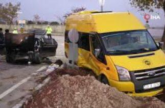 Elazığ'da feci trafik kazası ! Çok sayıda yaralı var