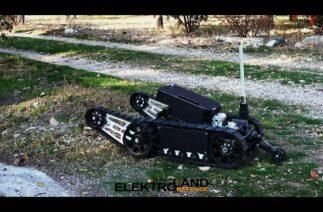 ElektroLand Defence, gizli silahlı robot Teoman'ı geliştirdi