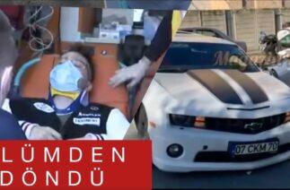 Enes Batur trafik kazası geçirdi! (Ölümden döndü)