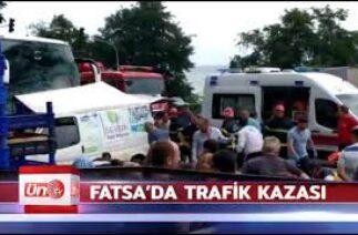 FATSA TRAFİK KAZASI