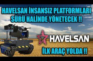HAVELSAN İNSANSIZ PLATFORMLARI SÜRÜ HALİNDE YÖNETECEK !!