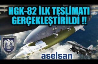 HGK-82 İLK TESLİMATI GERÇEKLEŞTİRİLDİ !!